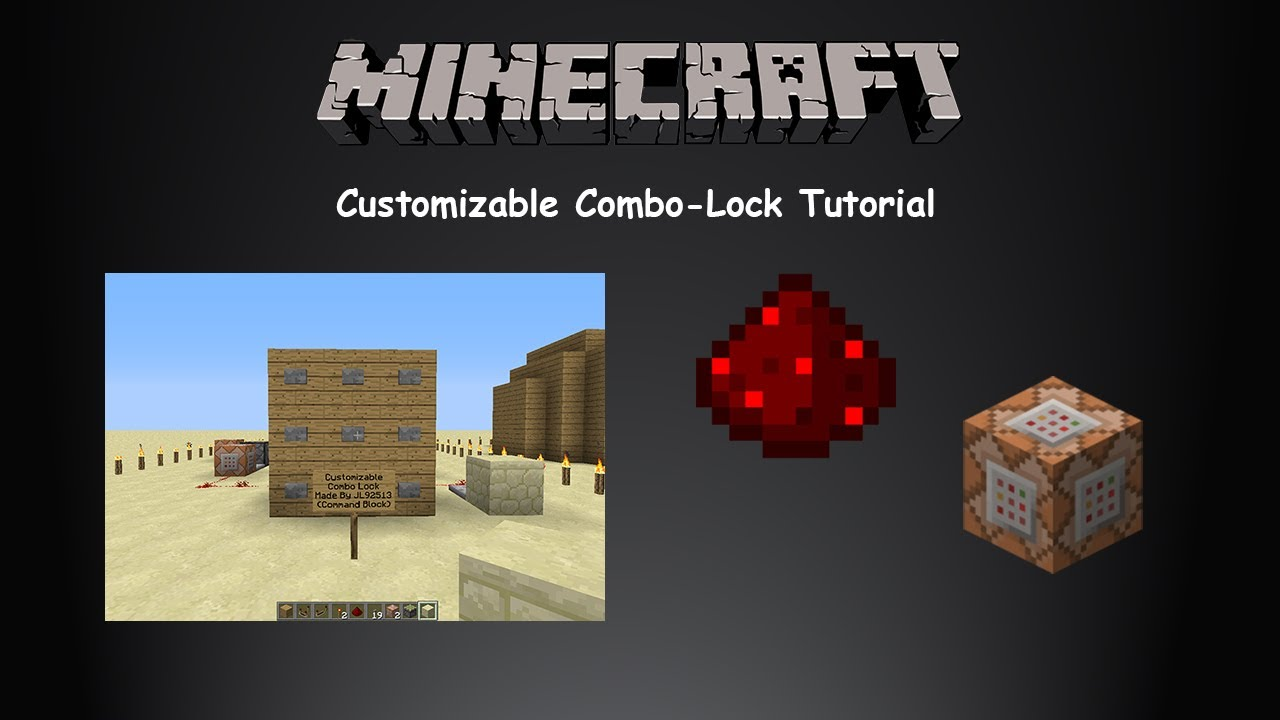 how to get out of a combo minecraft