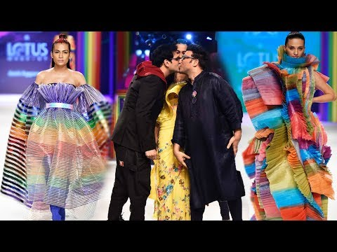 The Rainbow Show - Grand Finale | Spring/Summer 2019 | India Fashion Week