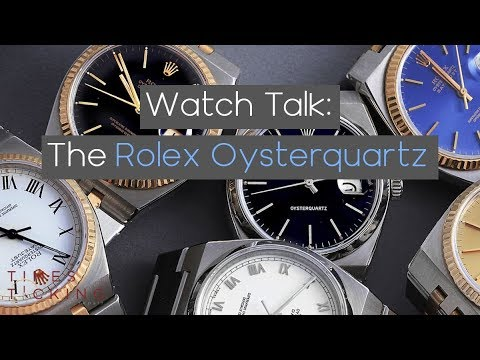 History And Timeline Of The Rolex Oysterquartz