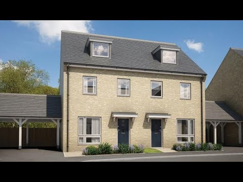 Abbey New Homes - The Carmack @ Queen Eleanor Place, Milton Keynes,  by Showhomesonline
