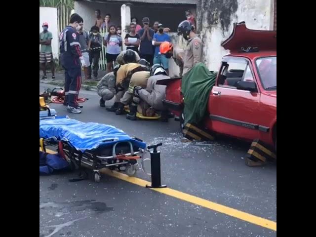 Acidente deixa três mulheres feridas em Barra Mansa