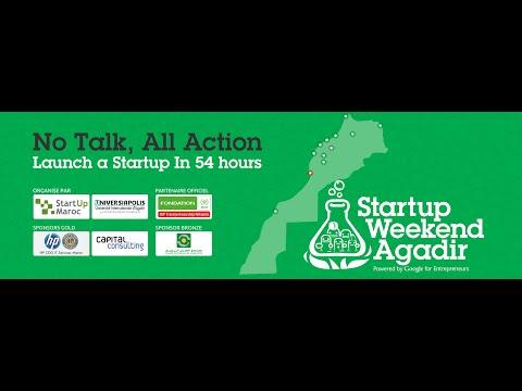 Startup Weekend Agadir 2016