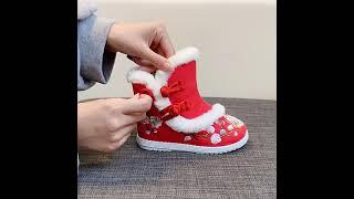 kirahosi 키라호시 양털 안감 골동품 신발 겨울 …