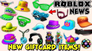 ROBLOX NEWS: *NEW* FREE ITEMS WITH GIFT CARDS