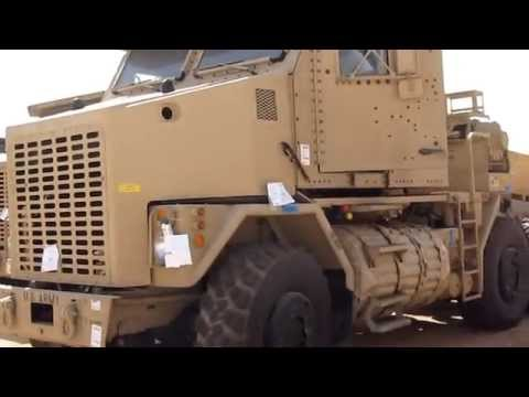 Driving The Army HET (Heavy Equipment Tractor)