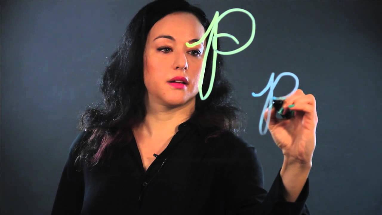 How To Draw A Cursive P Youtube