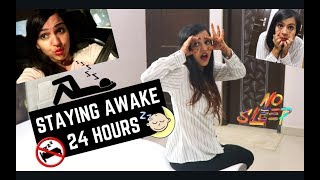 STAYING AWAKE FOR 24 HOURS 😴😲| WoN OR LOSt?