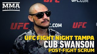 UFC Tampa: Cub Swanson Tells Kron Gracie To Be Humble, Be Student of MMA - MMA Fighting