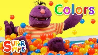 Learn Colors in the Super Duper Ball Pit | Blue, Yellow, & Red