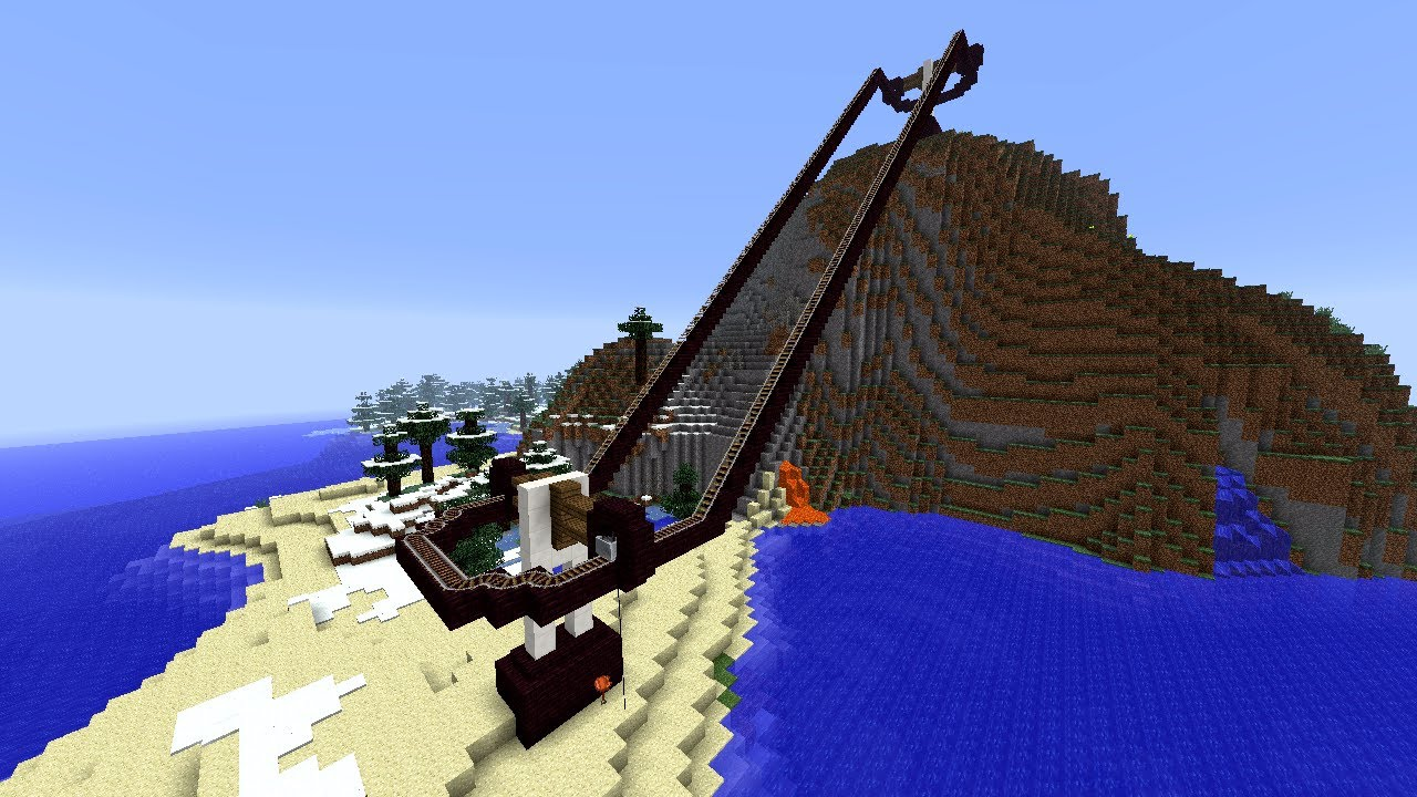 Fully Functional Chairlift! [Minecraft 13w16a] - YouTube