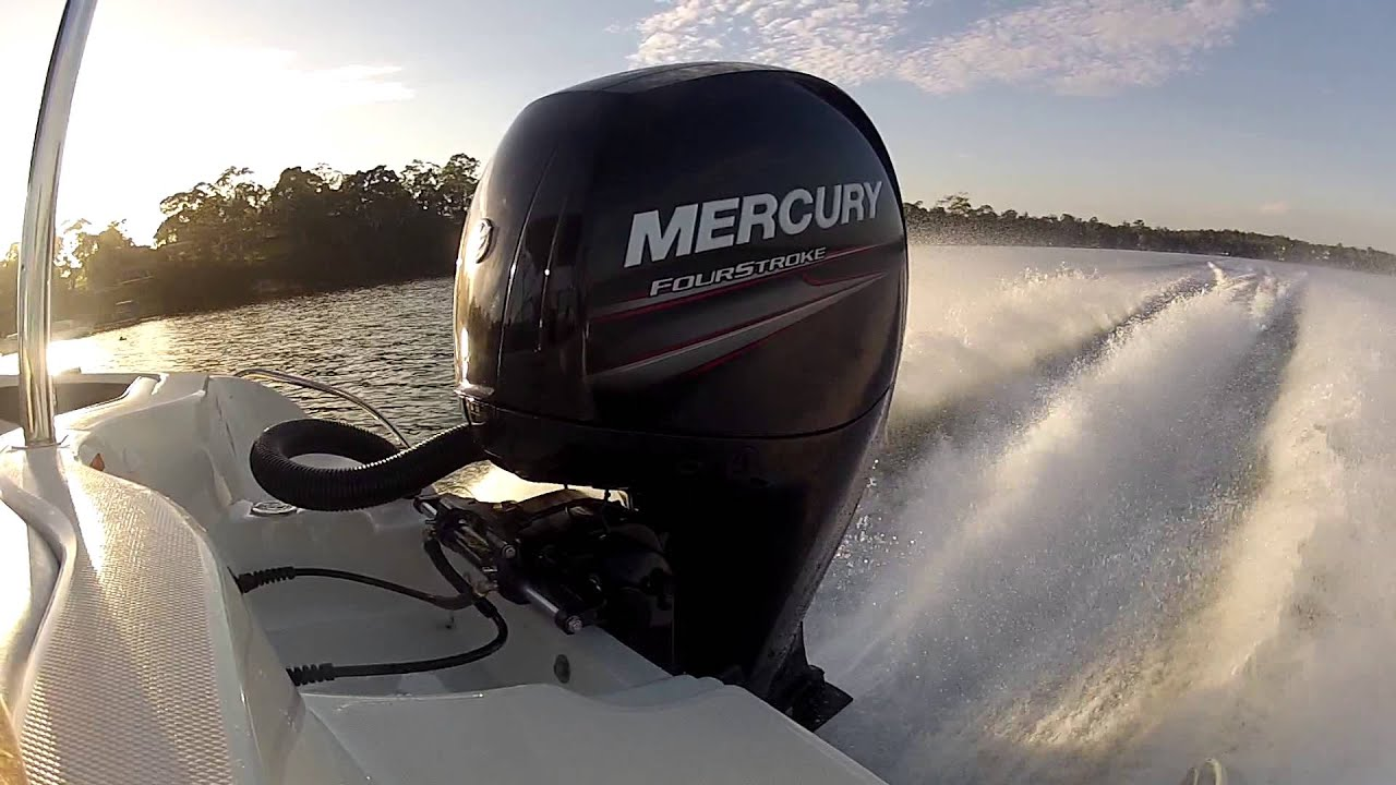 Mercury 150hp Fourstroke - Wot Smooth Water