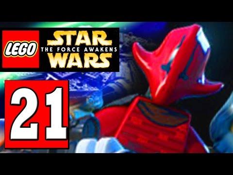 LEGO Star Wars The Force Awakens Part 21 SECRET LEVEL: THE CRIMSON CORSAIR