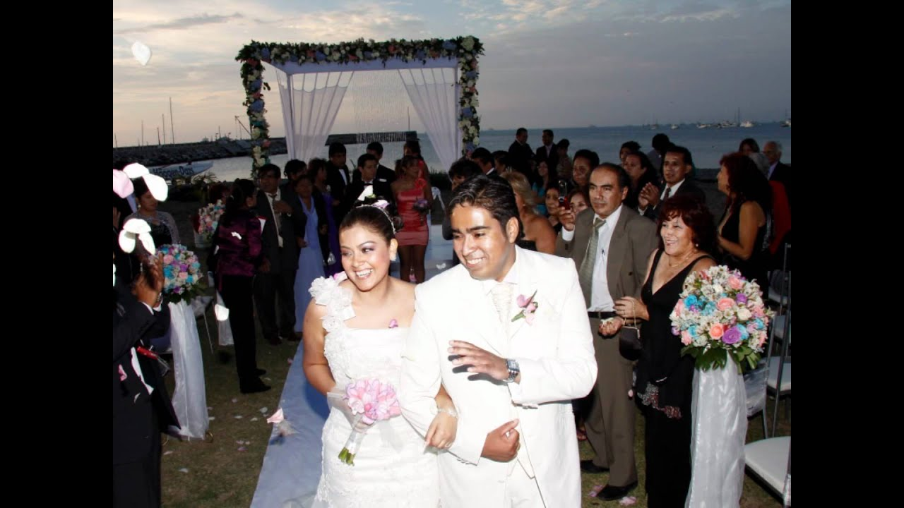 Matrimonio Catolico Vs Civil : Bpp boda en la playa punta luis y diana youtube