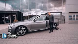 BMW 740LE и о некоторых автосалонах в Германии.
