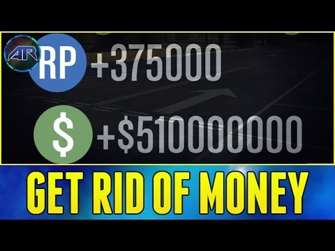 Grand Theft Auto  Online How To Get Rid Of Money In Gta Online Youtube