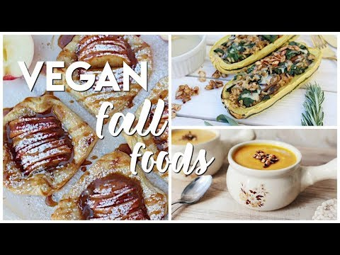 Fall Inspired Recipes ( VEGAN + DELICIOUS )