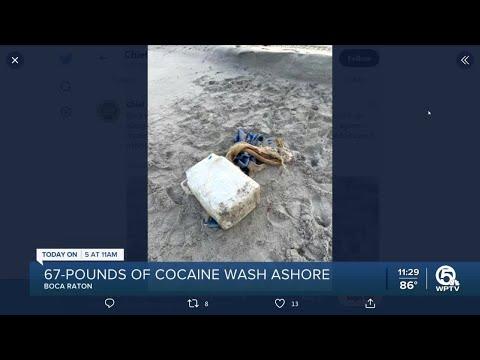 $1 million worth of cocaine washes ashore in Boca Raton