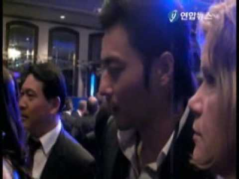 Jang Dong Gun with KC Concepcion at CGI ASIA (2008.12.03)