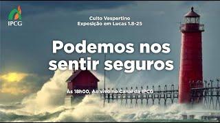 CULTO VESPERTINO  - 13/06/2021