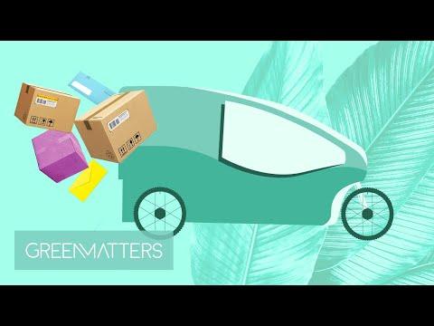 Green Matters News - E-Bike Delivery