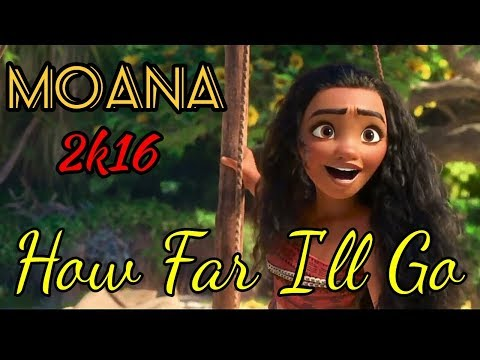Moana - How Far I'll Go (Animated)  WhatsApp Status/Ringtone