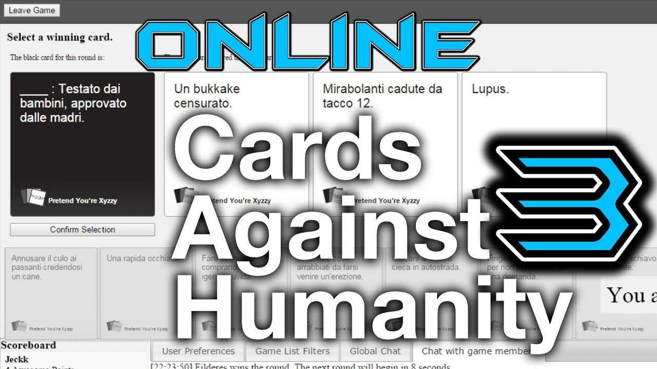 Humanity online 3 esplicito pretend you re xyzzy youtube