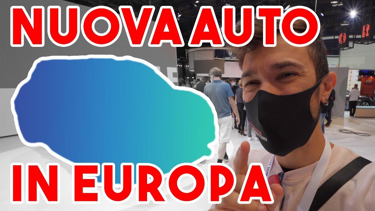 NUOVA AUTO in EUROPA!