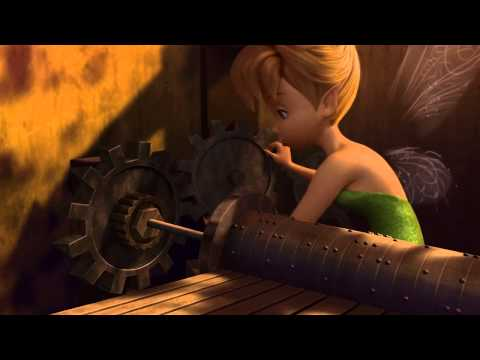 Tinkerbell discovers her talent
