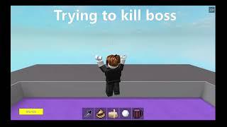 ROBLOX 2d Boss Fighting The Hardest Boss