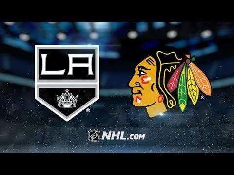 LOS ANGELES KINGS VS CHICAGO BLACKHAWKS 12/3/17