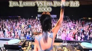 Lisa Lashes Vs Lisa Pin-up Live Vinyl Mix 2000