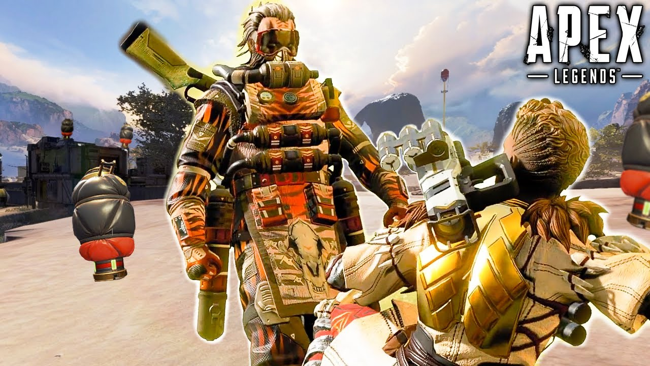 Download CAUSTIC IS TERRIFYING IN KINGS CANYON! Season 10 - Apex Legends
