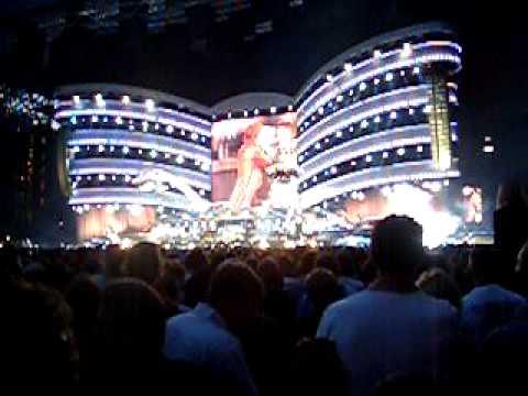 Rolling Stones Bigger Bang intro Copenhagen 2007