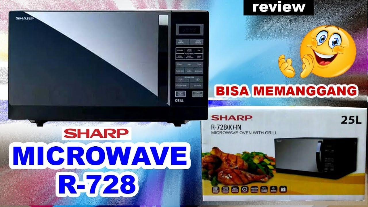 Sharp Microwave R 728 Menggunakan Grill