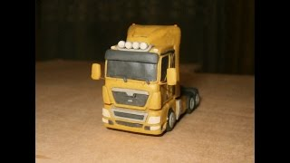 MAN TGX Как слепить грузовик из пластилина | How to build truck | Jak zbudować ciężarówkę