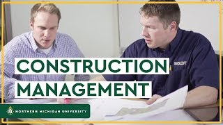 Construction Management at NMU