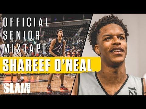 Shareef O'Neal Official Senior Mixtape! Shaq's Son is a Legend!