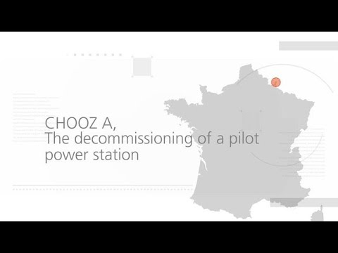 Chooz A - The decomissioning of a pilot power station