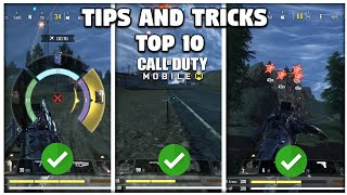 TOP 10 BATTLEROYALE TIPS AND TRICKS IN CODMOBILE   SEASON 8 UPDATE TIPS AND TRICKS   CODM TIPS