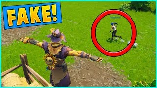 + Today I hide with Brad as a FAKE scarecrow at Fatal Fields! It ac...