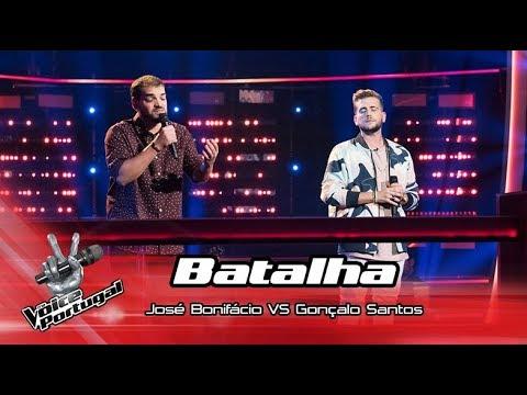 "José Bonifácio VS Gonçalo Santos - ""Haja o que houver"" | Batalha | The Voice Portugal"