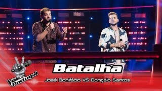 "José Bonifácio VS Gonçalo Santos - ""Haja o que houver""   Batalha   The Voice Portugal"