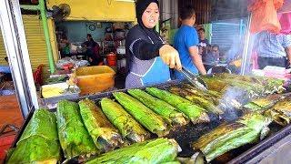 Muslim Street Food in MALAYSIA   Kuala Lumpur HALAL Street Food HEAVEN - BEST Malaysian Street Food