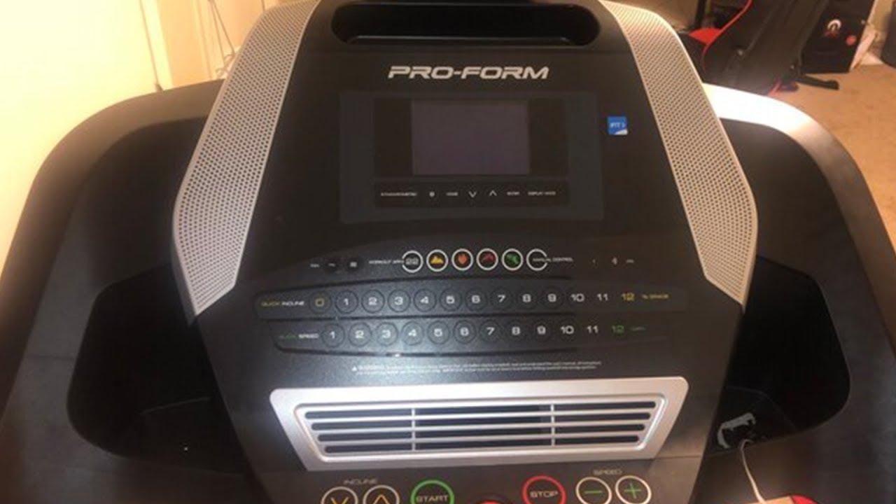 proform 705 cst treadmill review