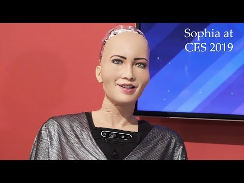 Sophia Ai Robot Talk About God & Religion At Ces 2019