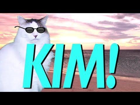 Happy Birthday Kim Epic Cat Happy Birthday Song Youtube