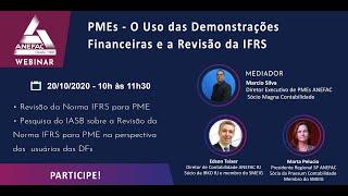 PME o Das Demonstrações Financeiras  e a revisão da IFRS