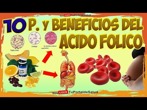 Acido fólico beneficios |10 Propiedades y Benéficos del Acido Fólico