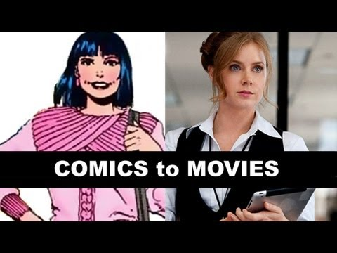 Man of Steel 2013 - Amy Adams is Lois Lane!  From Comics to Trailer to Movie!