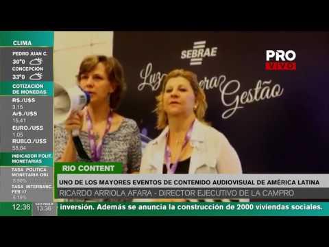 Paraguay en el Rio Content Market de Brasil
